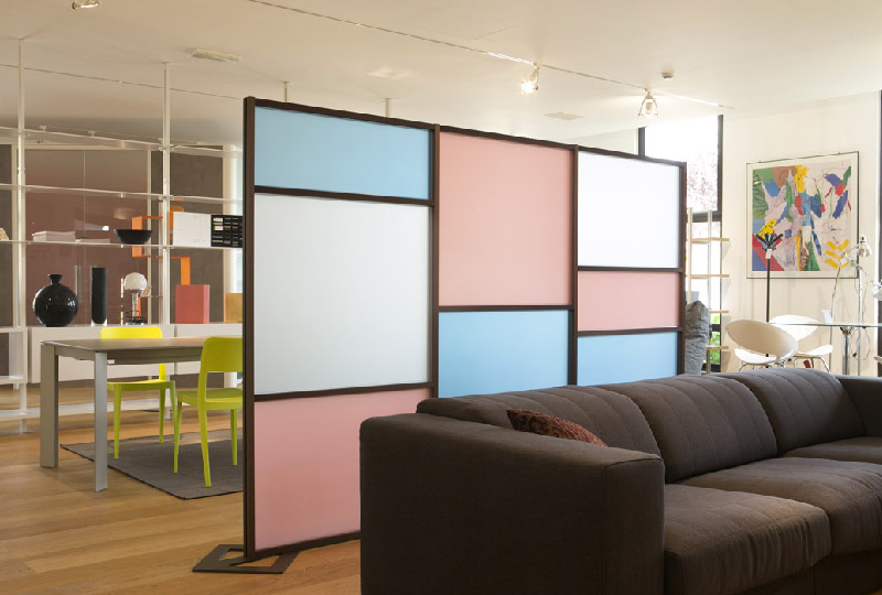 parete divisoria modulare TETRIX di Studio T