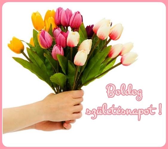 tulipános születésnapi képeslapok Boldog Születésnapot Üdvözlőlap   MuzicaDL tulipános születésnapi képeslapok
