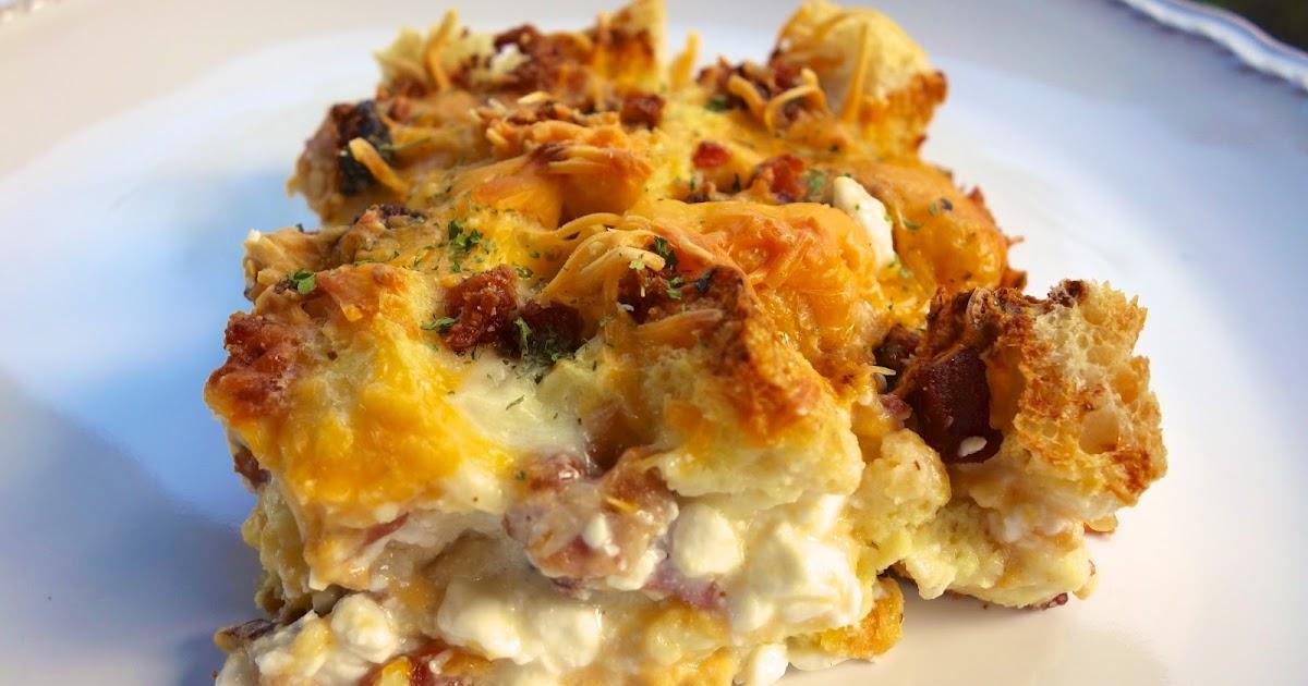 Cheesy Bacon Breakfast Casserole Plain Chicken