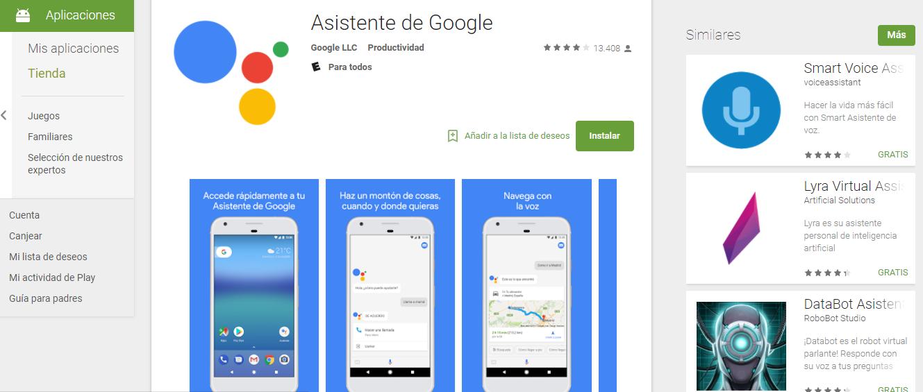 Descargar Google Assistant Go 1.4.185572707 La versión de Android go