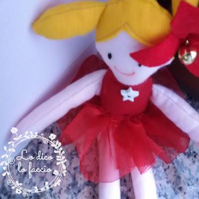 bambola feltro