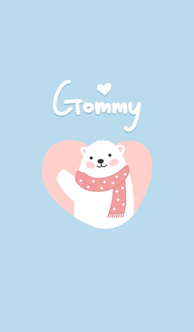 Gommy : sweet polar bear theme