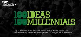 TEDxJoburg 100 Ideas 100 Millennials Mentorship Programme