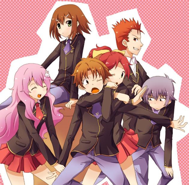 Baka to Test to Shoukanjuu - Anime comedy terbaik yang lucu bisa bikin ngakak