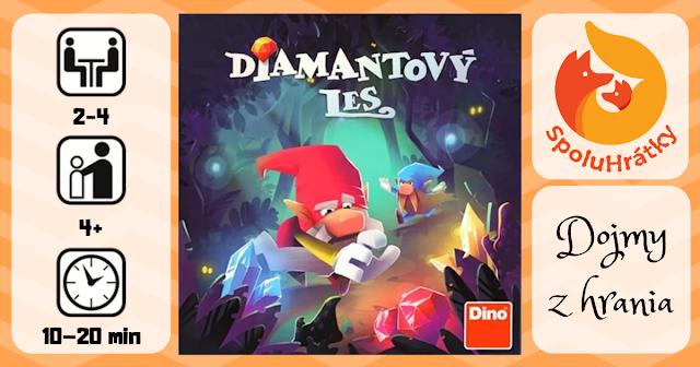 recenzia hry Diamantový les na blogu www.spoluhratky.eu