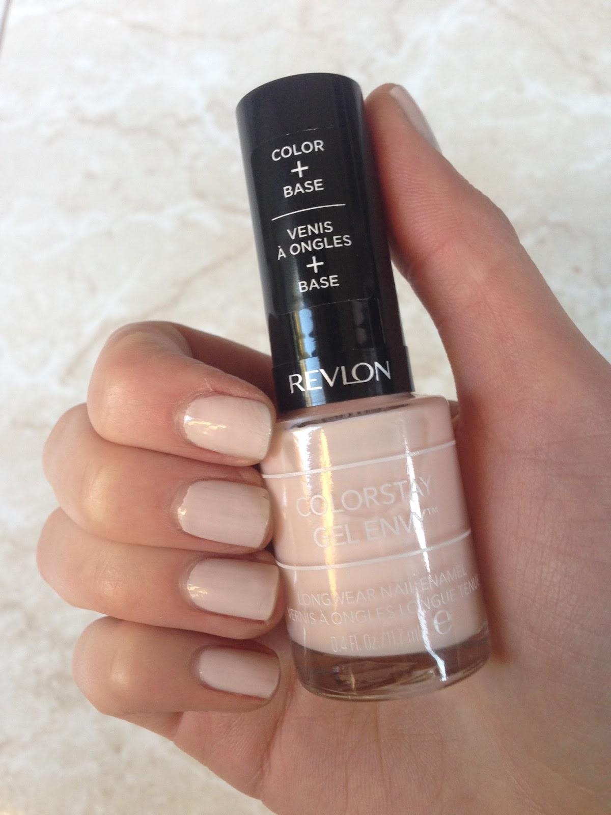 Review: Revlon Colorstay Gel Envy Nail Polish   Classically Contemporary revlon gel nail polish remover