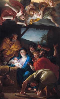 Imagem da adoração dos pastores, pintura, #1
