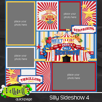 Silly Sideshow  by Kellybell Designs