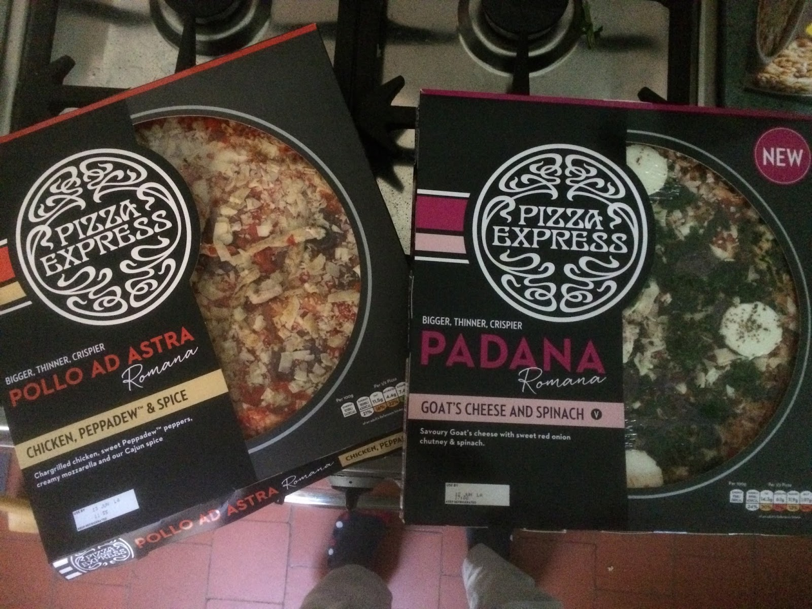 Foodstuff Finds Pizza Express Pollo Ad Astra Padana By