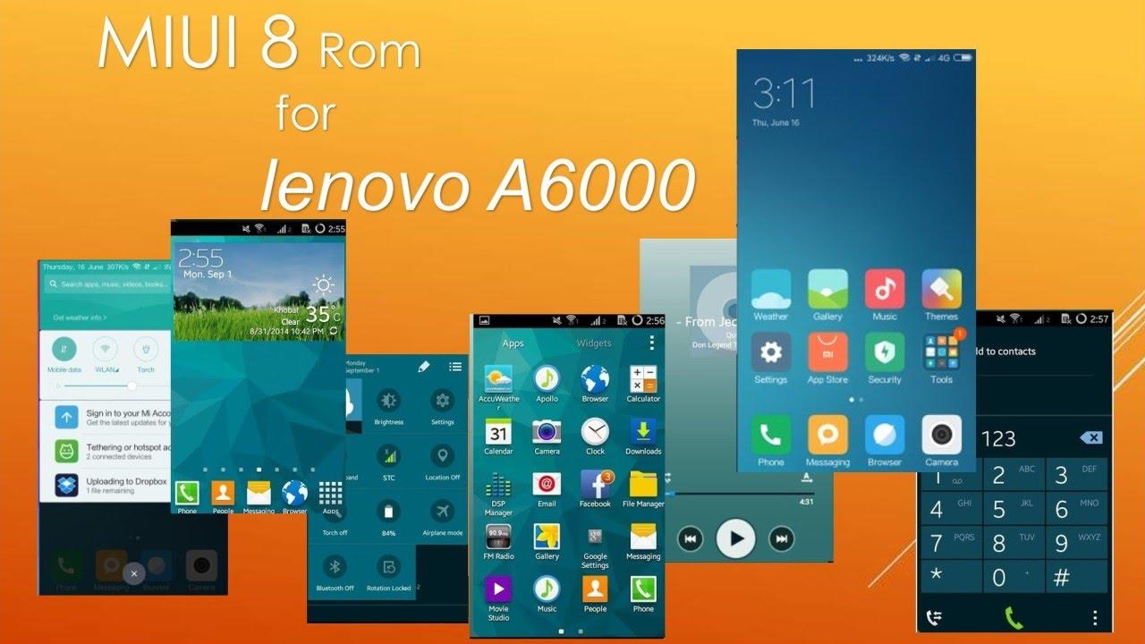 Install Miui 7 Custom Rom For Lenovo A6000 Plus – Fondos de Pantalla