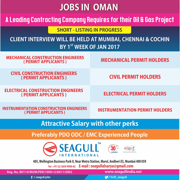 Gulf-Jobs- Telugu: Jobs in SAS - For Their Oil/Gas Projects