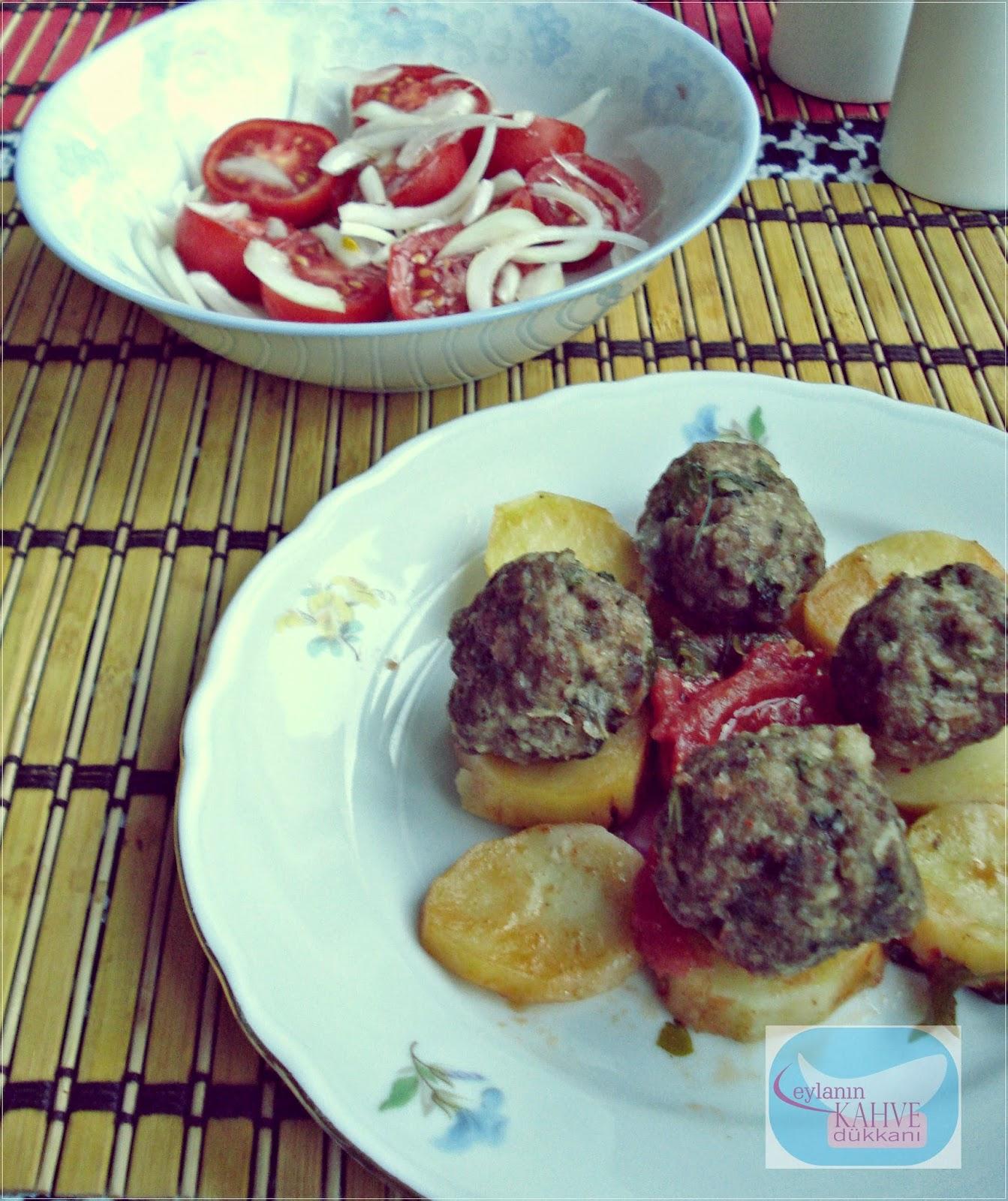 köfteli yemek, köfteli sebze yemeği, iftara ne pişirsem