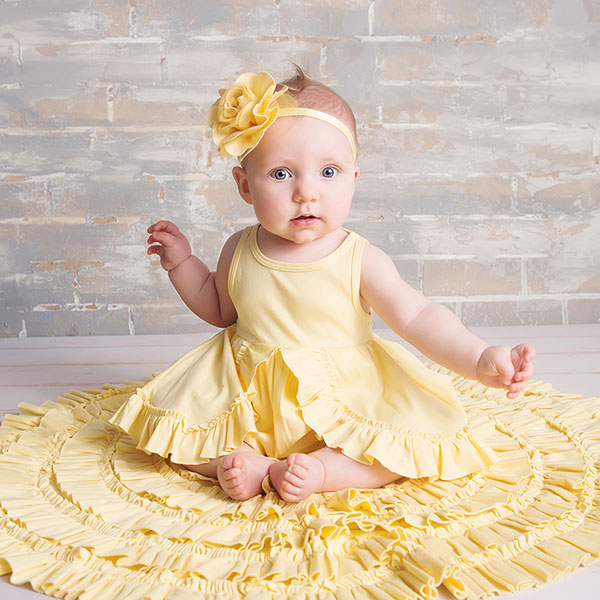 Lemon Loves Layette baby girl set