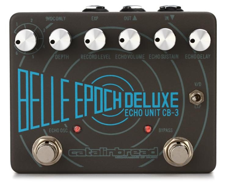 STOMP BOX STEALS: DELAY- CATALINBREAD Belle Epoch Deluxe    bang on