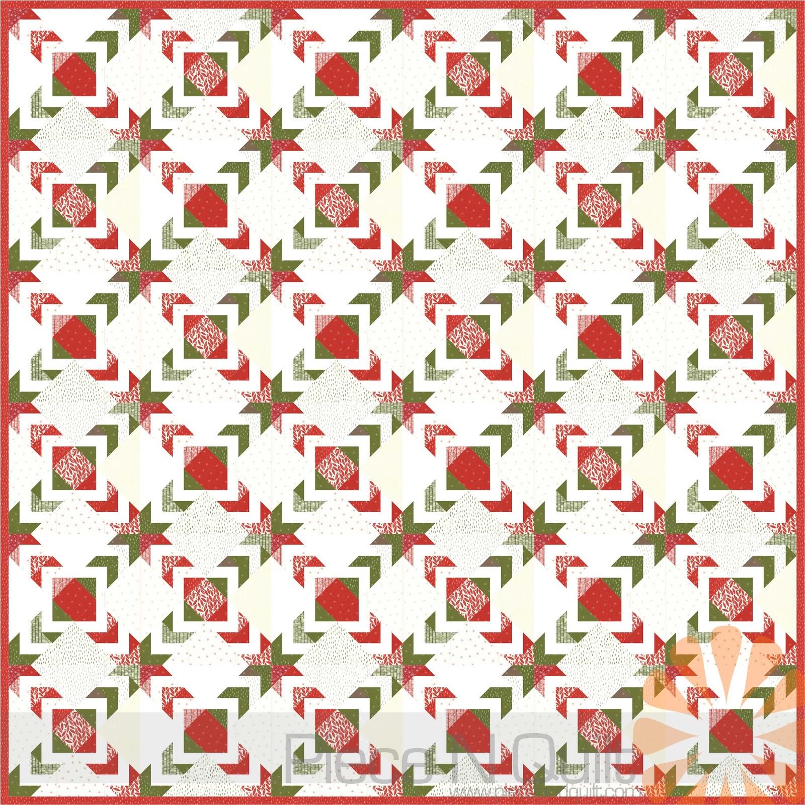 Piece N Quilt Spider Star Quilt A Free Christmas Quilt Tutorial