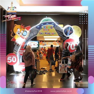 Pintu masuk Kids Area Jakarta Fair