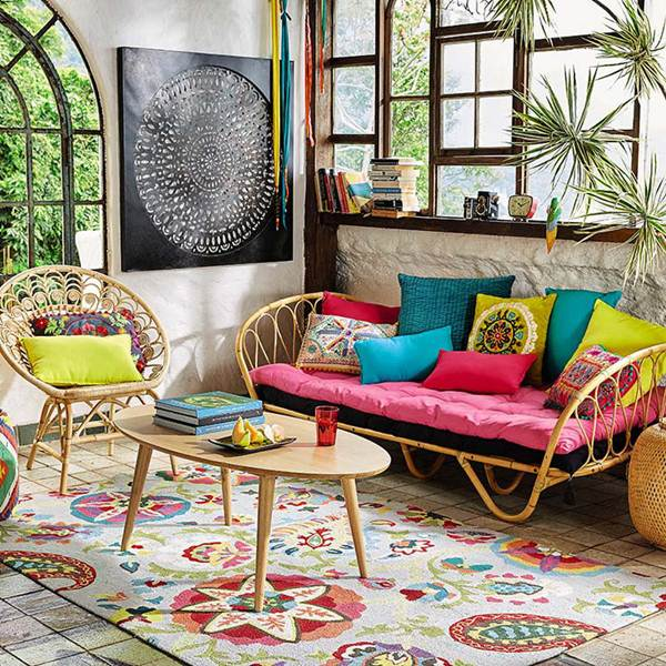 7 Lounges And Dining Rooms With Tropical Style 5
