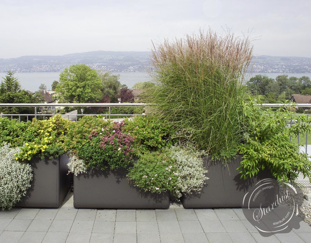 Modern Outdoor Planters - Bestsciaticatreatments.com