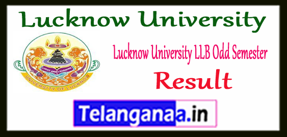 Lucknow University LLB 1st 3rd 5th Semester Result 2017-18