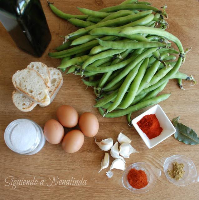 Siguiendo a nenalinda habas con vaina o peliqueiras for Como se cocinan las habas