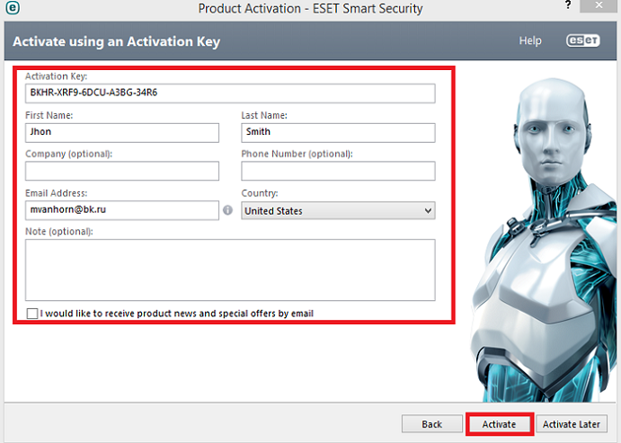 eset smart security 9 activation key free download facebook