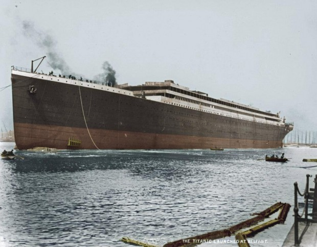 16 beautiful colorized photos of the rms titanic