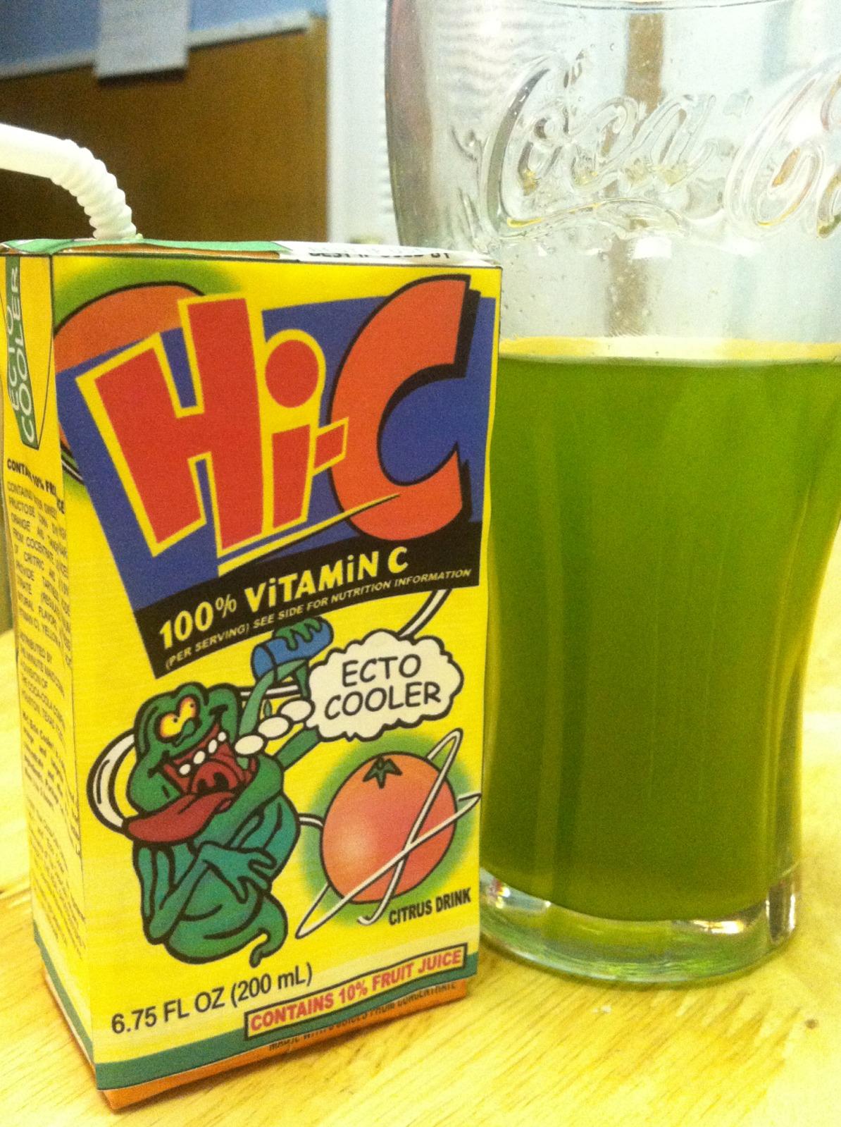 The Holidaze: Hi-C Ecto Cooler