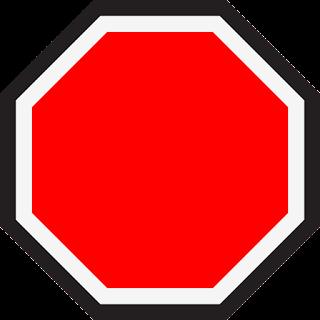 Señal stop.