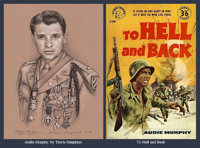 Audie Murphy, 33°. World War II Soldier, Actor and Freemason. To Hell and Back. by Travis Simpkins
