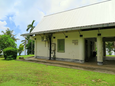 Kaday Village Community Office, Yap, built by Japan.