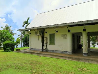 Kaday Village Community Office, Yap, built by Japan.
