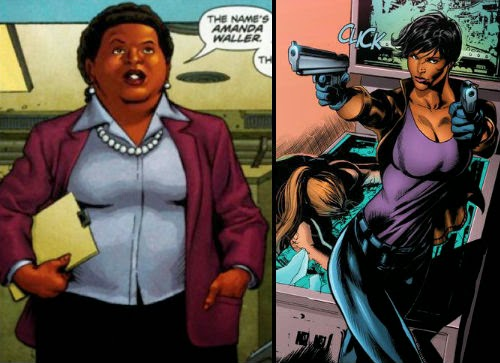 weight amanda waller new 52 arrow suicide squad batman v superman dawn of justice zack snyder ben affleck henry cavill