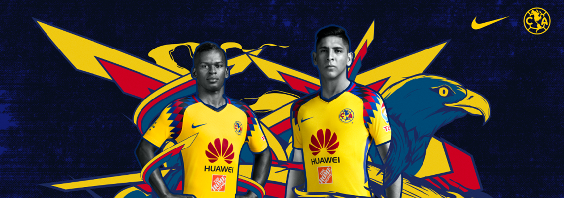 I COLORI DEL CALCIO  EL TERCER UNIFORME CLUB AMÉRICA TEMPORADA 2017 ... 529303576114e
