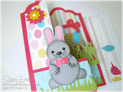 DSC#226 - Z Fold Bunny Basket Bunch Card