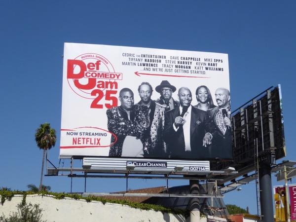 Def Comedy Jam 25 Netflix billboard