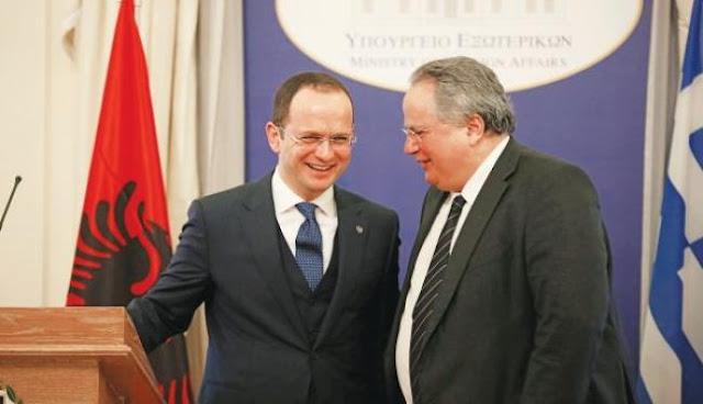 «Βόμβα» Κοτζιά: Μιλάμε με την Αλβανία και για «οριοθέτηση συνόρων»!