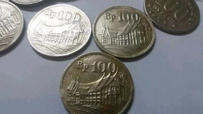 koin uang 100 rupiah