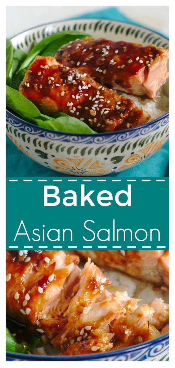 Baked Asian Salmon
