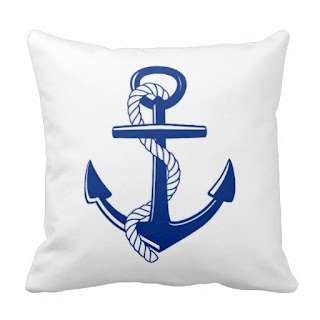 Beach home decor accent throw pillow