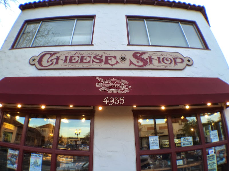 Trying out my new wide-angle lens at Sacred Wheel Cheese Shop in Oakland's Temescal district