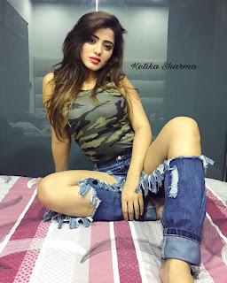 Ketika Sharma Hot Leggy Pics