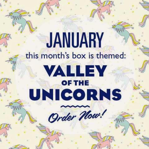 lucky dip club unicorn box