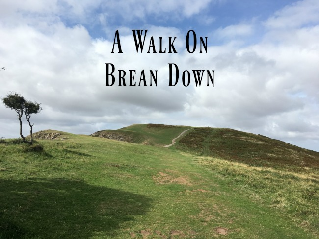 a-walk-on-Brean-Down-text-over-image-of-footpath-on-downs