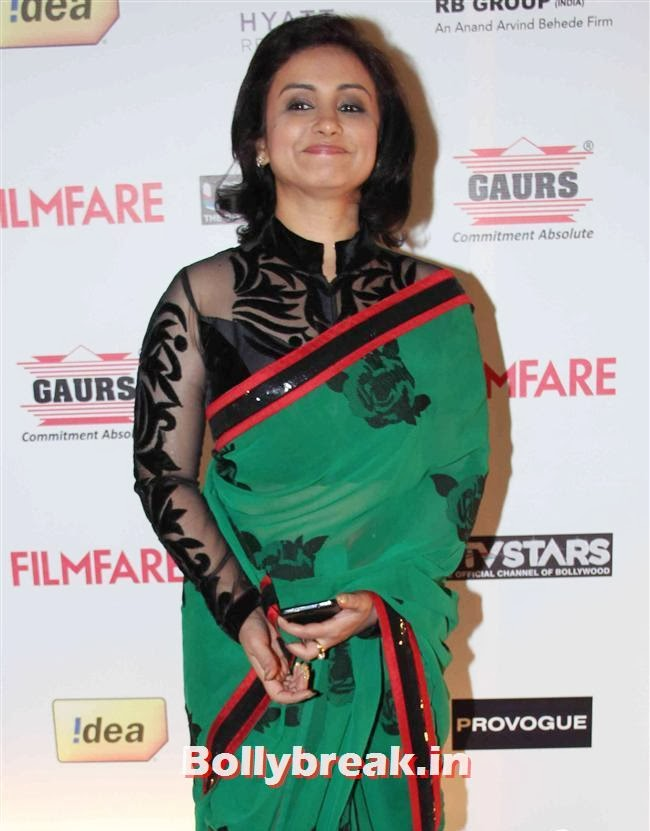 Divya Dutta, Bollywood A-List Actresses at 59th Filmfare Pre Awards Party