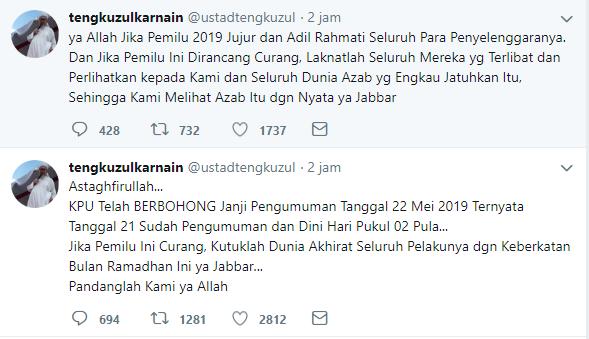 Do'a Ustadz Tengku