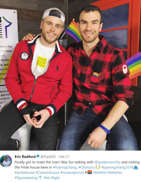 radford single gay men 16 gay and bi olympic figure skaters  but figure skating has always provided an athletic arena for gay men,  eric radford competed alongside skating partner.