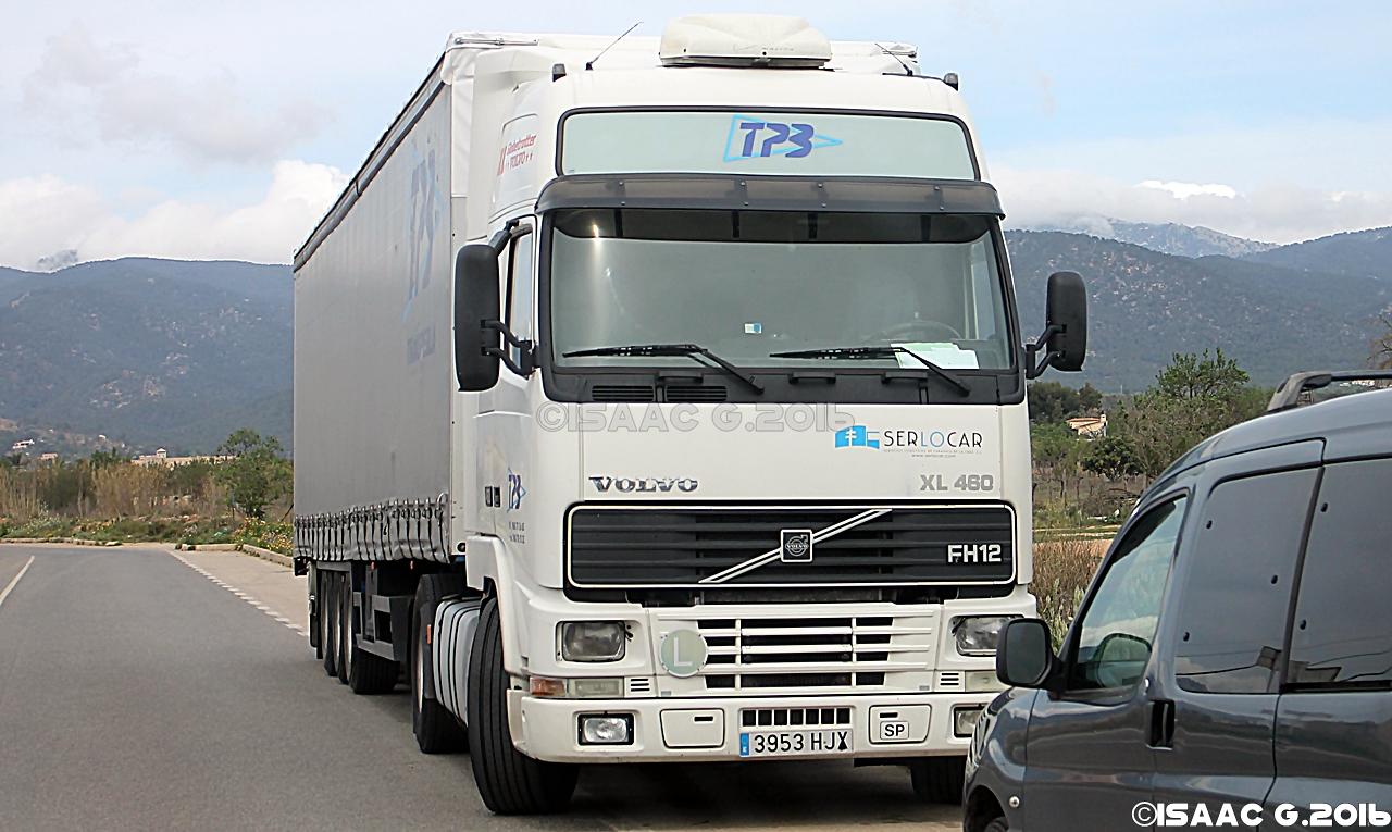 Camiones y autobuses en baleares volvo fh i - Transporte islas baleares ...