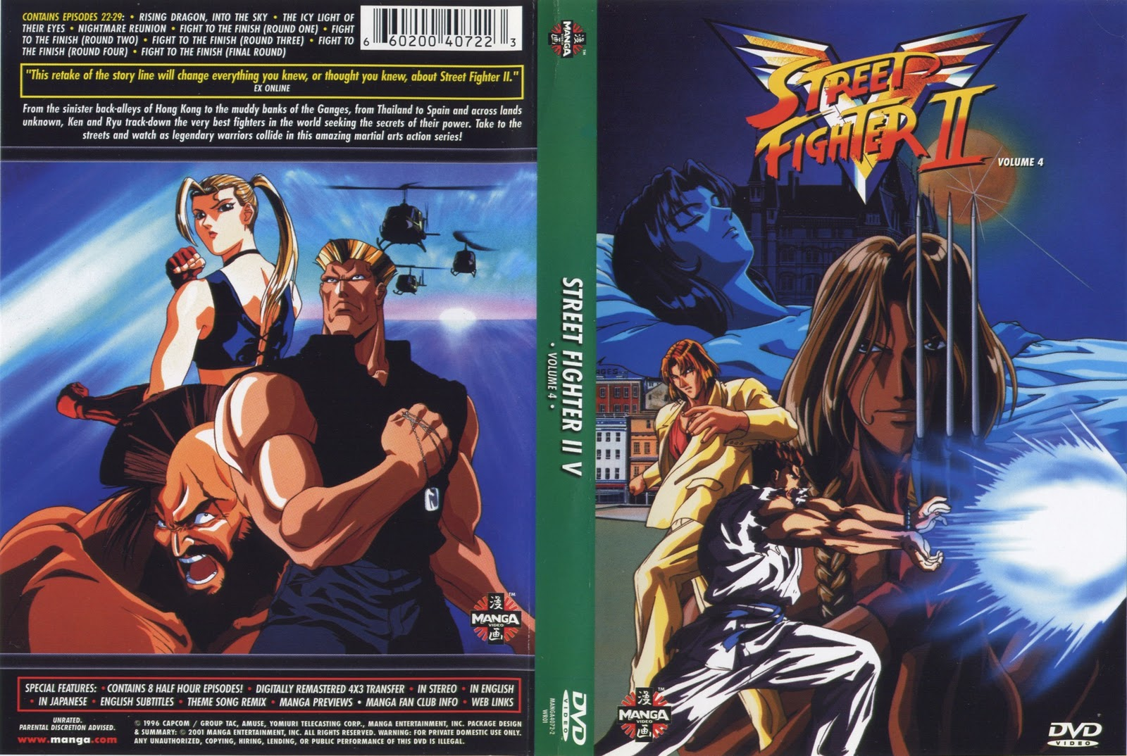 Street Fighter II: Victory Vol 4 Final Torrent – Dublado DVD-R Dual Áudio