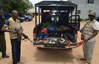 Two armed robbers shot dead during gun battle with Police in Kano