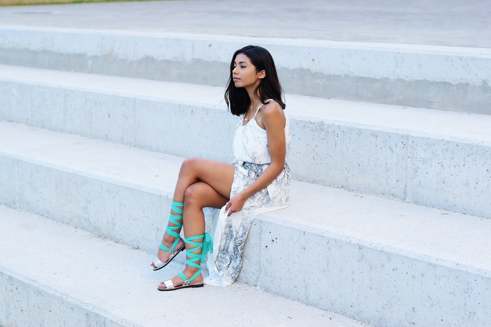 Grecian style outfit ideas for summer